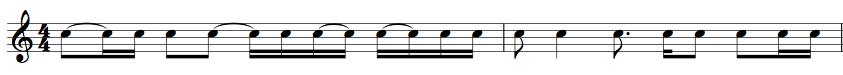 horrible rhythm