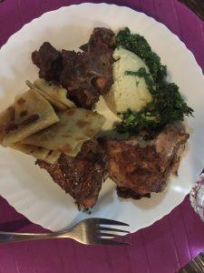 Kenyan-ugali-chapati